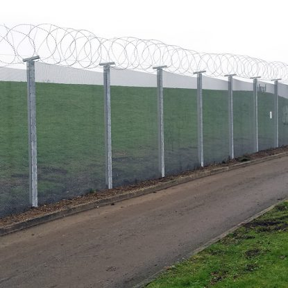 ArmaWeave Woven Mesh CPNI Enhanced Fencing