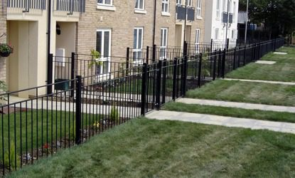 Security fencing for the average home owner