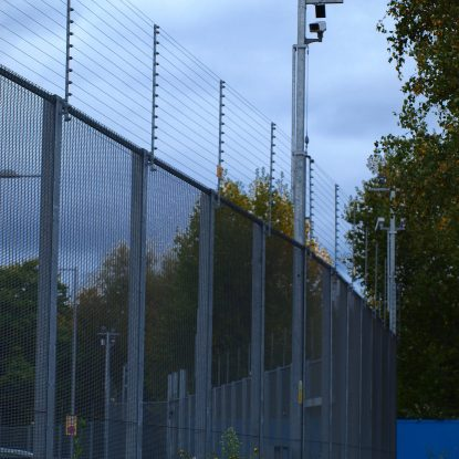 electric perimeter fencing electric fence topping