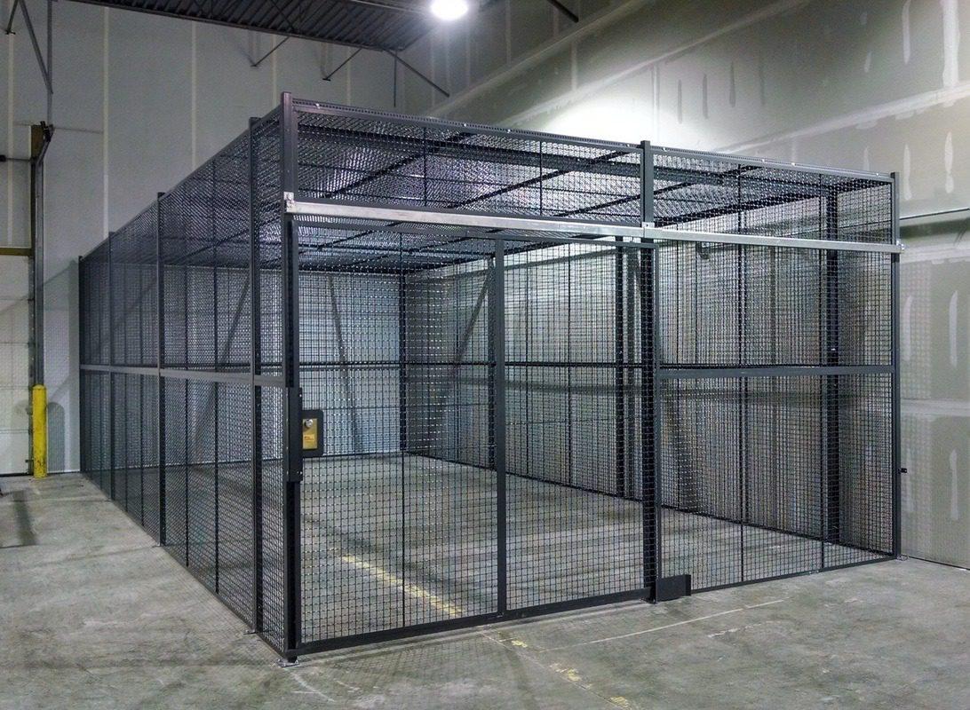 Security Cages Bin Storage Gas Storage Zaun Ltd