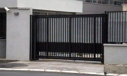 Terror Stopper PAS 68 Cantilever Sliding Gates