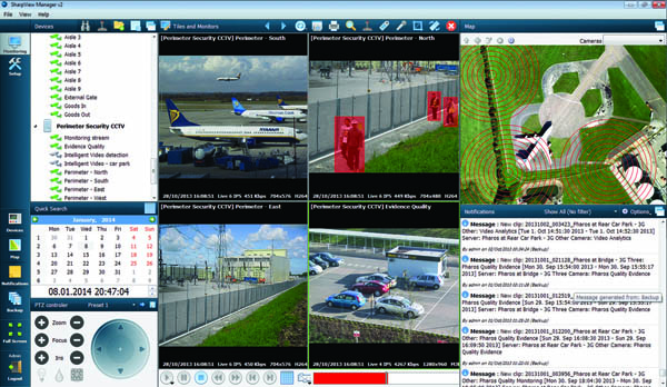 Radar-controlled CCTV heralds guardless site security