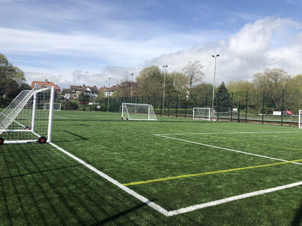 Hove haven gets upgraded 3G football pitch