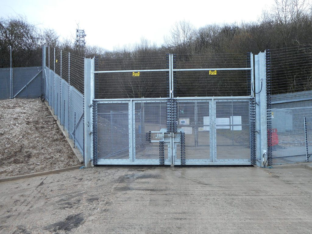 ArmaWeave High Security Gates Installing Security Gates